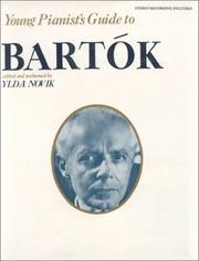 Cover of: Young Pianist Guide Bartok