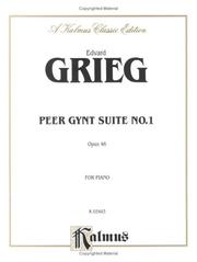 Cover of: Grieg Peer Gynt Suite 1