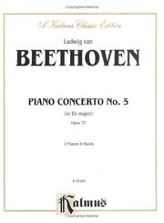 Cover of: Piano Concerto No. 5 in E-flat, Op. 73""