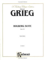 Cover of: Grieg / Holberg Suite Op.40