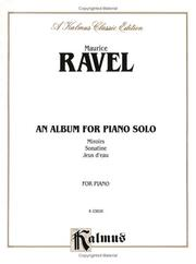 Cover of: Ravel Album