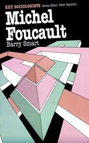 Cover of: Michel Foucault (Routledge Key Sociologists) | Barry Smart