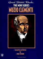 Cover of: Muzio Clementi | Dale Tucker