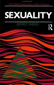 Cover of: Sexuality (Key Ideas)