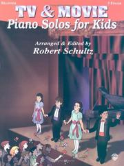 Cover of: TV & Movie Piano Solos for Kids | Robert Schultz