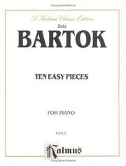 Cover of: Bartok 10 Easy Pieces