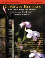 Cover of: The Young Pianist's Library / 14A - Gershwin Recital