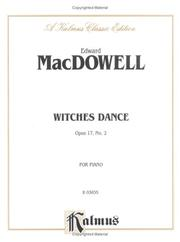 Cover of: MacDowell Witches Dance