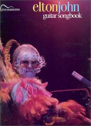 Cover of: Elton John Guitar Songbook
