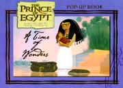 Cover of: A Time of Wonders (Prince of Egypt) | Dream Works