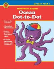 Ocean Dot-to-Dot by School Specialty Publishing, Vincent Douglas