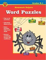 Cover of: Word Puzzles | School Specialty Publishing