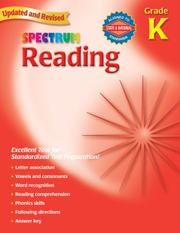 Cover of: Spectrum Reading, Kindergarten (Spectrum) | School Specialty Publishing