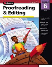 Cover of: The 100+ Series Proofreading & Editing, Grade 6 (100+) | Brittany Hutchinson