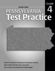 Cover of: Pennsylvania Test Practice Teacher Guide, Consumable Grade 4 | School Specialty Publishing
