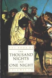 Cover of: The Book of Thousand Nights and One Night | E. P. Mathers