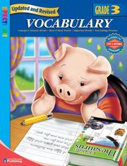 Cover of: Spectrum Vocabulary, Grade 3 (Spectrum) | School Specialty Publishing