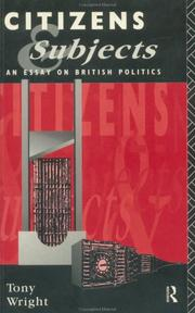 Cover of: Citizens and subjects