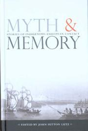 Cover of: Myth and Memory | John Sutton Lutz
