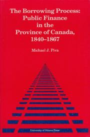 Cover of: The Borrowing Process | Michael J. Piva