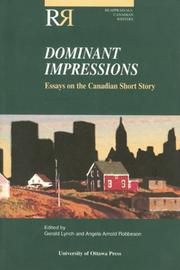 Cover of: Dominant Impressions |