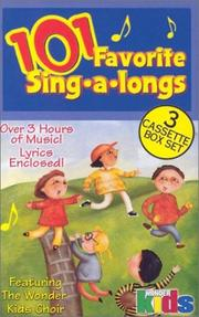 Cover of: U Kids 101 Favorite Sing-A-Long Songs | Various Artists