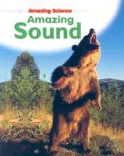 Cover of: Amazing Sound (Amazing Science)