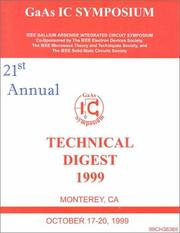 Cover of: 21st Annual GaAs IC Symposium