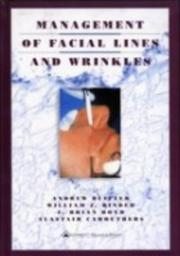Cover of: Management of Facial Lines and Wrinkles |