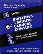 Cover of: Griffiths Min Clinical Consult Bkcd | Lippincott