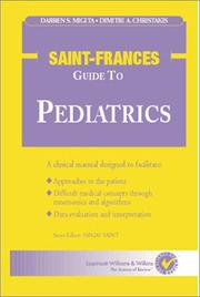 Cover of: The The Saint-Frances Guide to Pediatrics