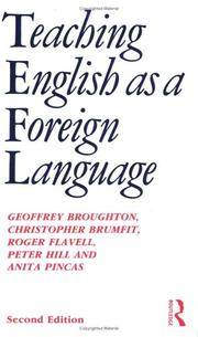 Cover of: Teaching English as a Foreign Language