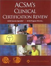 ACSMs Clinical Certification Review