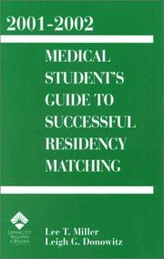Cover of: 2001-2002 Medical Student