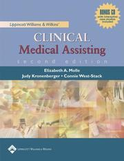 Lippincott Williams & Wilkins Clinical Medical Assisting by Elizabeth A. Molle, Judy Kronenberger, Connie West-Stack