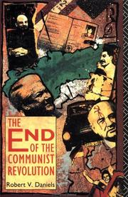 Cover of: The end of the Communist revolution