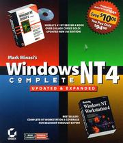 Cover of: Mark Minasi's Windows Nt4 Complete