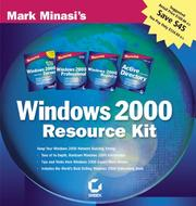 Cover of: Mark Minasi's Windows 2000 Resource Kit [4 books plus bonus cd-rom]