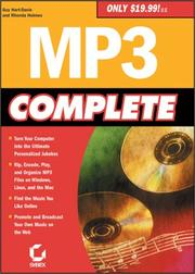 Cover of: MP3 Complete