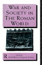 Cover of: War and society in the Roman world |