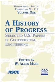 Cover of: A History of Progress |