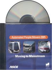 Cover of: Automated People Movers 2005 | American Society of Civil Engineers.