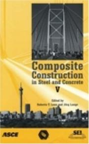 Cover of: Composite Construction in Steel and Concrete V | International Conference on Composite Co.