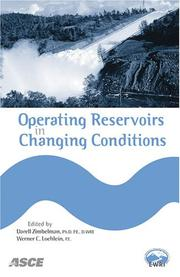 Cover of: Operating Reservoirs in Changing Conditions |