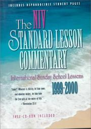 Cover of: The Niv Standard Lesson Commentary 1999-2000 | J. Underwood