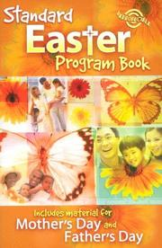 Standard Easter Program Book by