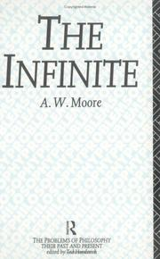 Cover of: The Infinite (The Problems of Philosophy)