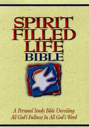 Cover of: Spirit-Filled Life Bible-NKJ