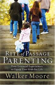 Cover of: Rite of Passage Parenting