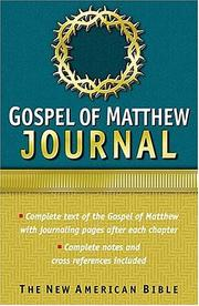 Cover of: New American Bible Journals Study The Life Of Christ |